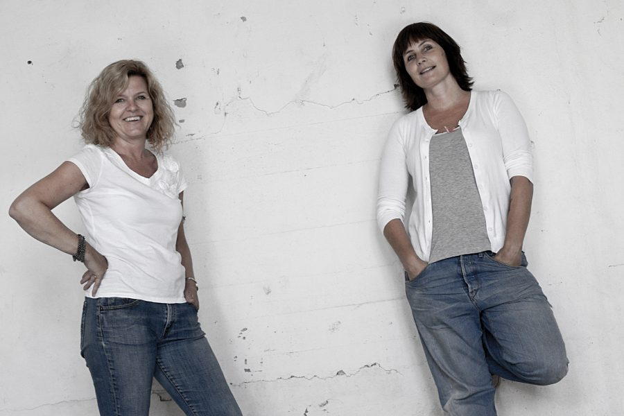 Grethe Bjork und Tove Tryda von Funky Doris