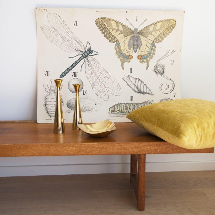 Aus Kupfer und im Alva Design Kerzenständer in zwei Größen und Schale von Funky Doris