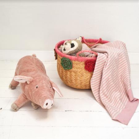 Das perfekte Geburtsgeschenk - eine Babydecke von Funky Doris