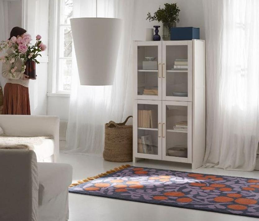 Teppich im finnischem Design