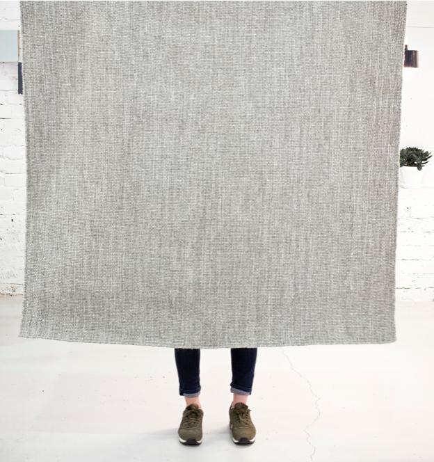 Längs gewebter Teppich Norm