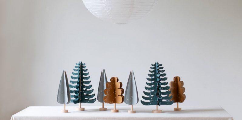 Papierbäume von Jurianne Matter