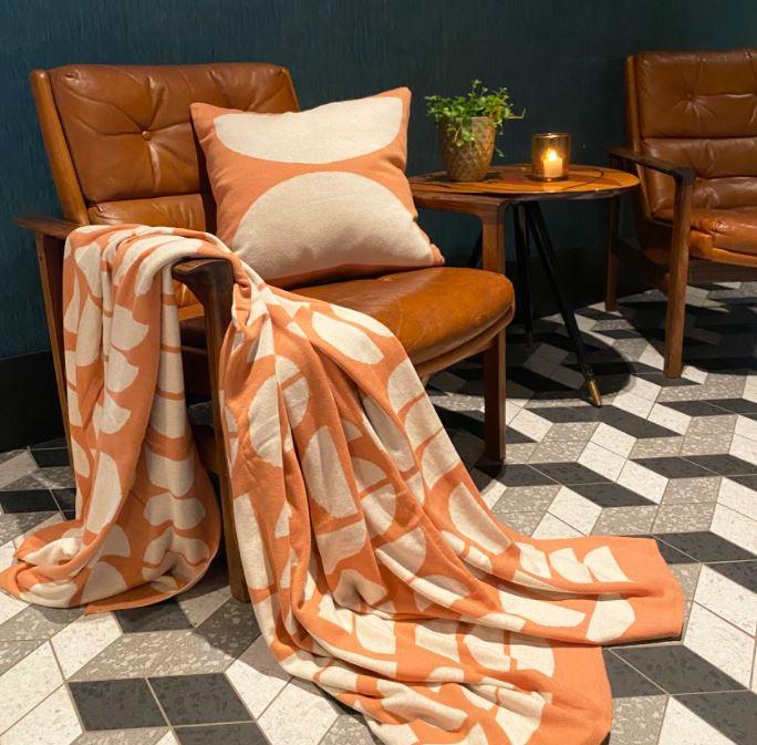 Kombination Decke und Kissen